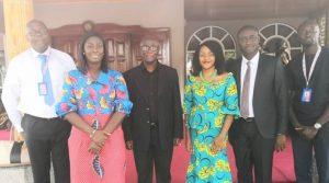 AirtelTigo leadership team calls on Otumfuo Osei Tutu II