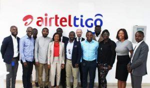 AirtelTigo Leadership with NCR Executives-and-Members